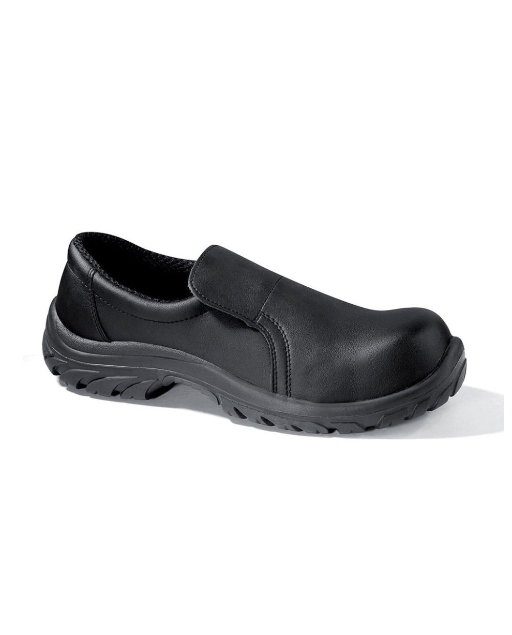 Baltix Low Black Slip On Shoe