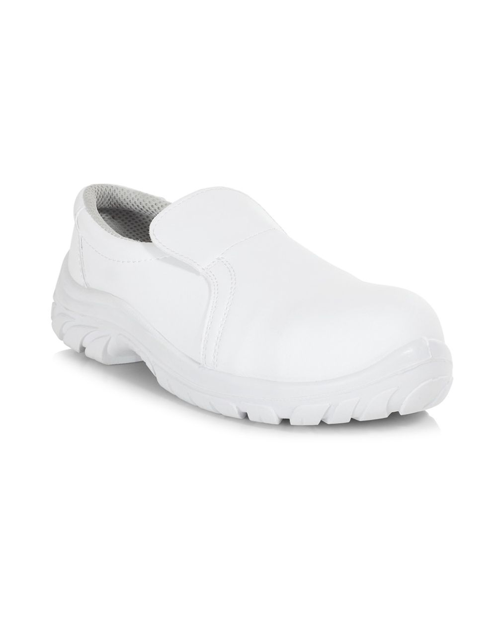 Baltix Low White Slip On Shoe