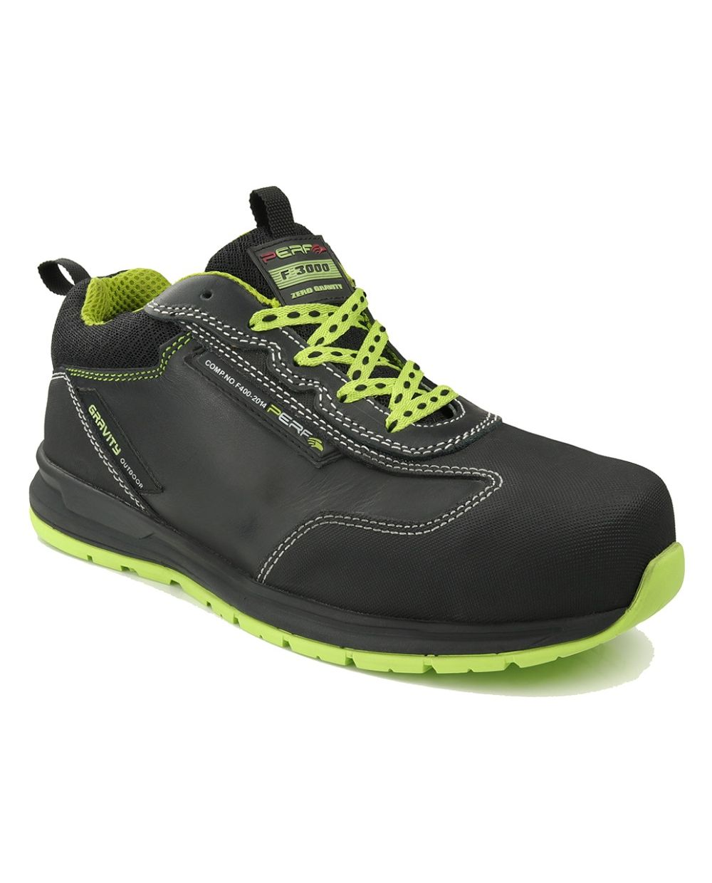 Gravity 22 Vibram Leather Trainer